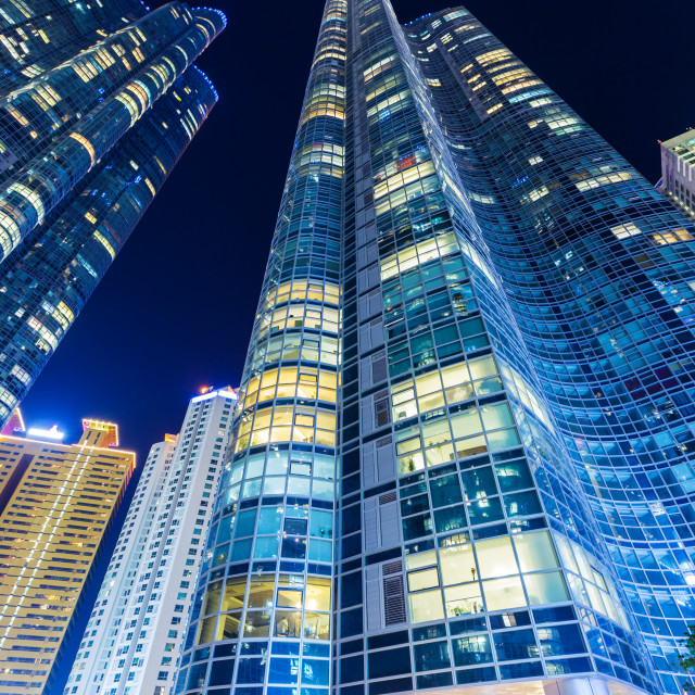 """""""Residential building in Busan"""" stock image"""