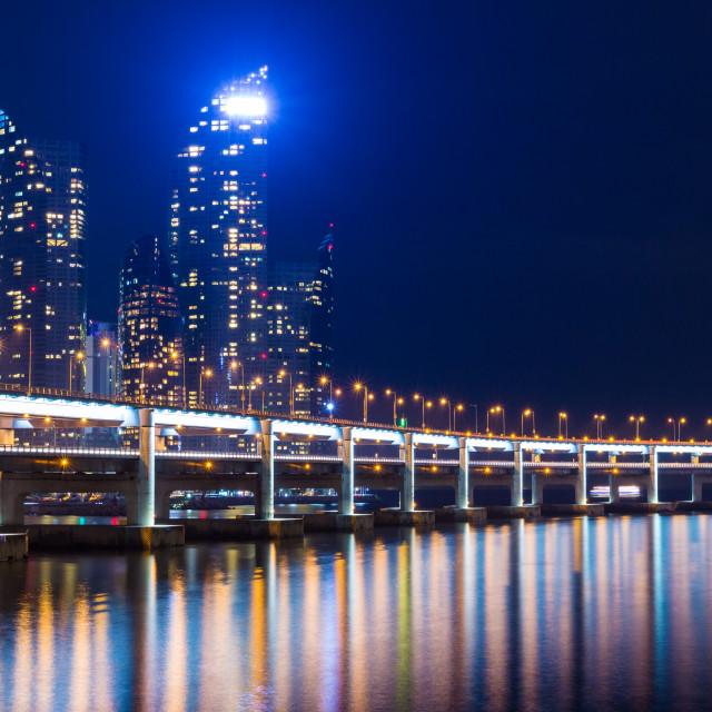 """Busan city in South of Korea"" stock image"
