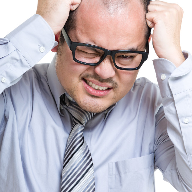 """""""Frustrated businessman"""" stock image"""