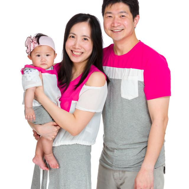 """Happy smile family"" stock image"
