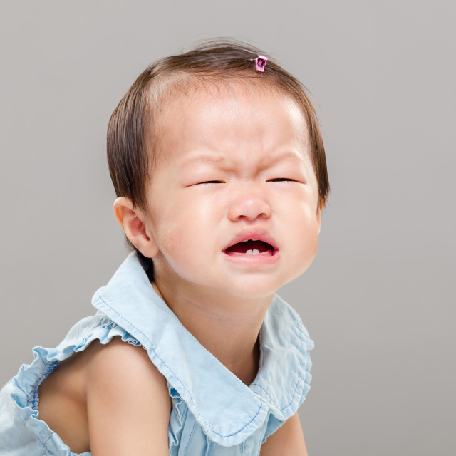 """""""Baby cry"""" stock image"""