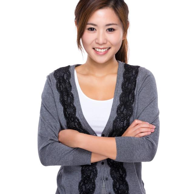 """Asian woman"" stock image"