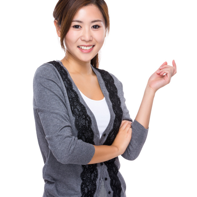 """""""Young woman portrait"""" stock image"""