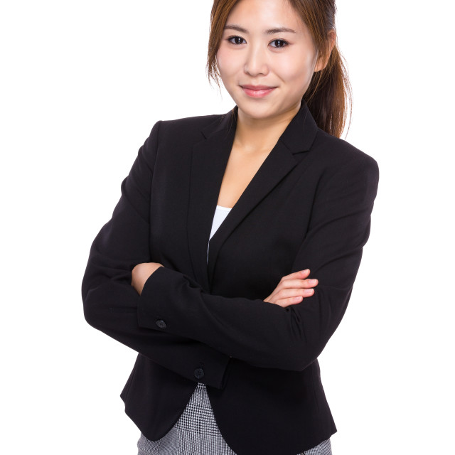 """Businesswoman portrait"" stock image"
