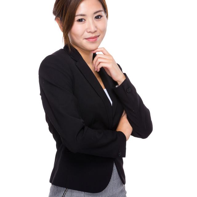 """""""Business woman portrait"""" stock image"""