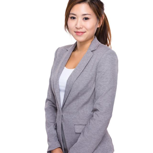 """Businesswoman"" stock image"