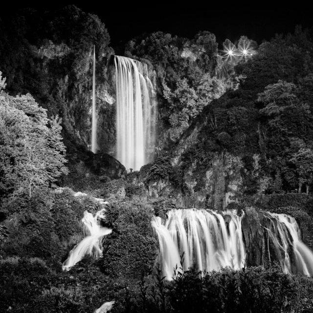 """Marmore Falls"" stock image"