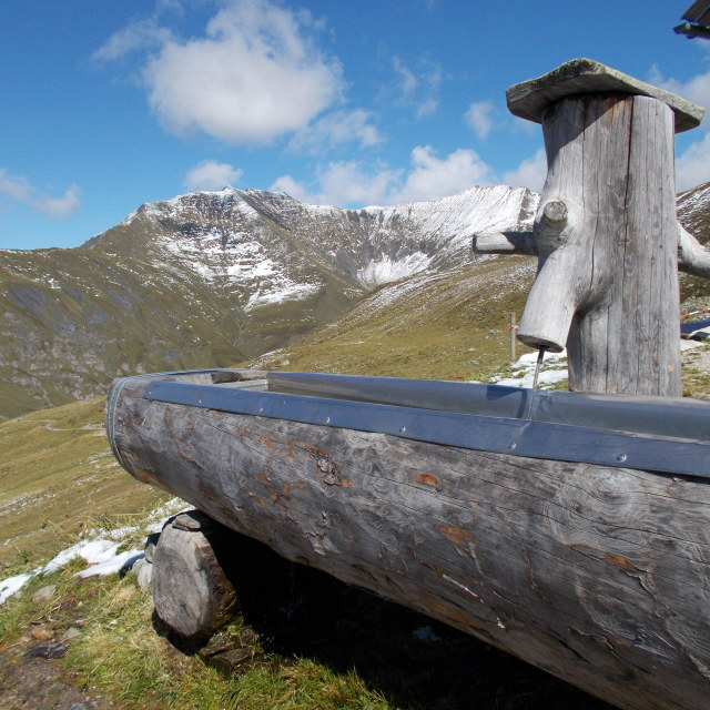 """Water trough"" stock image"