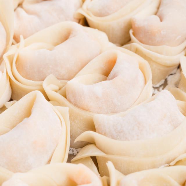 """Chinese dumpling"" stock image"