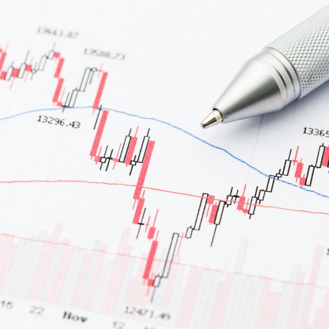 """Stock market chart"" stock image"