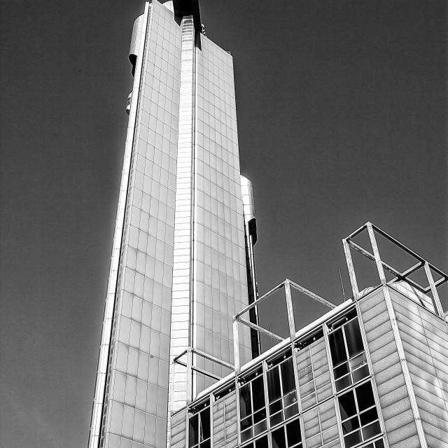 """Skyscraper business center Naples"" stock image"