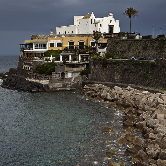"""Church of Soccorso (Forio) Ischia island Italy 2"" stock image"