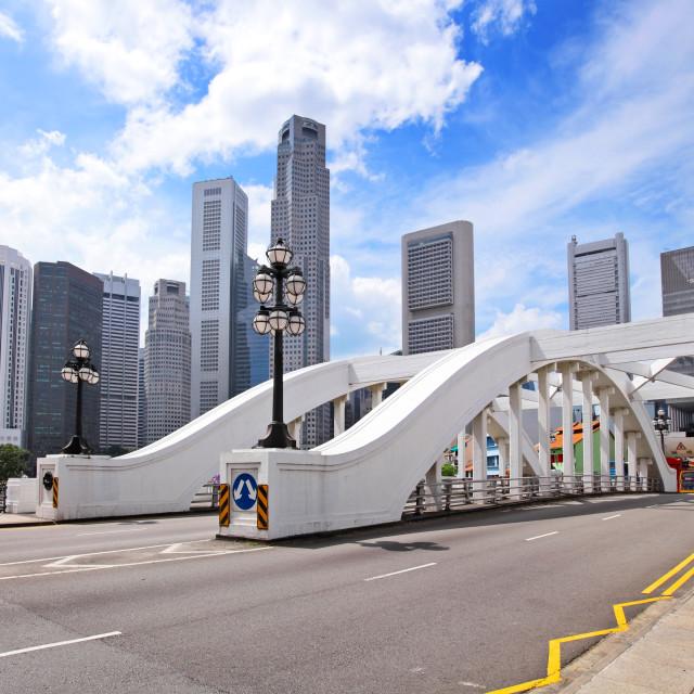 """Singapore city"" stock image"