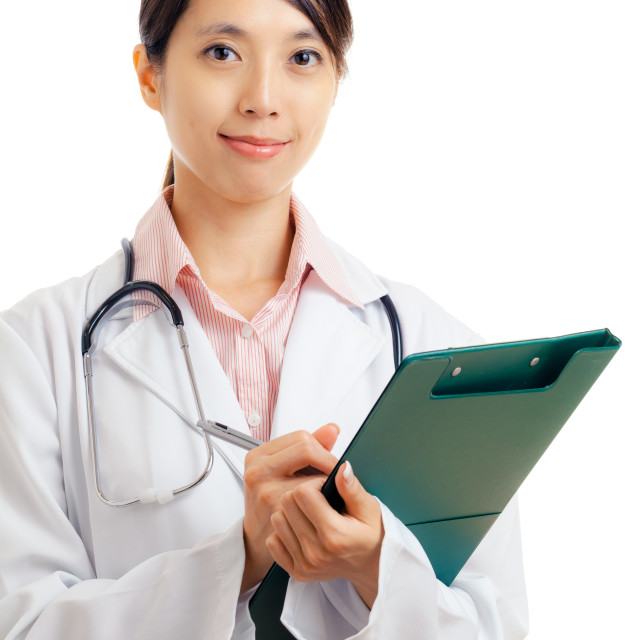 """""""Asian young female doctor"""" stock image"""