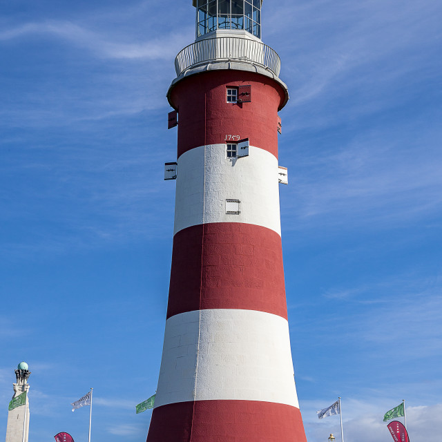 """""""The iconic Smeaton Tower"""" stock image"""
