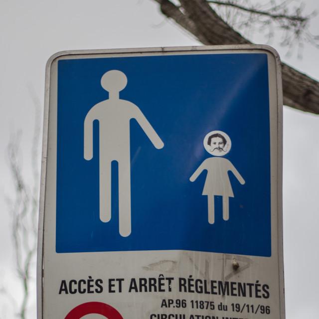 """Paris Sign"" stock image"