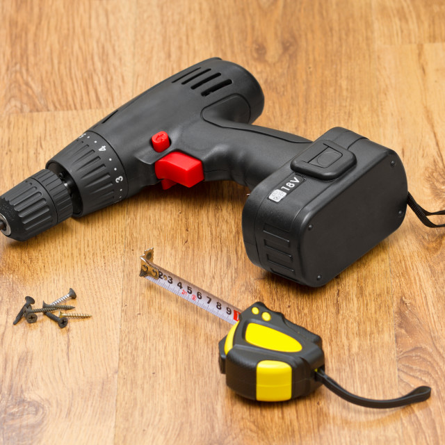"""Electric screwdriver"" stock image"