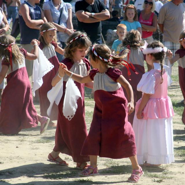 """Renaissance Festival, Koprivnica, Croatia, 2015, 30"" stock image"