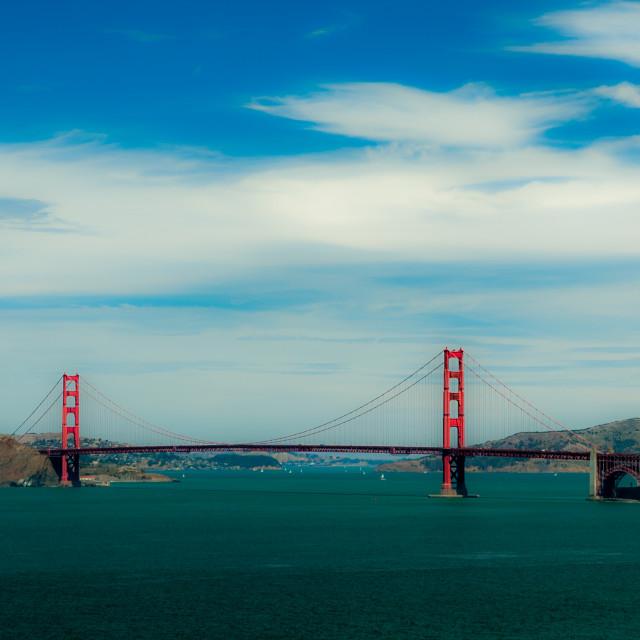 """Golden Gate Bridge"" stock image"