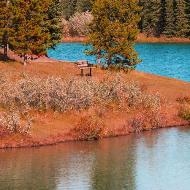 """Glacial Pond"" stock image"