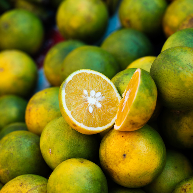 """Juicy Orange"" stock image"