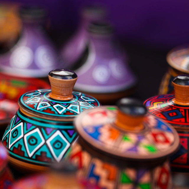 """Peruvian Handicrafts"" stock image"