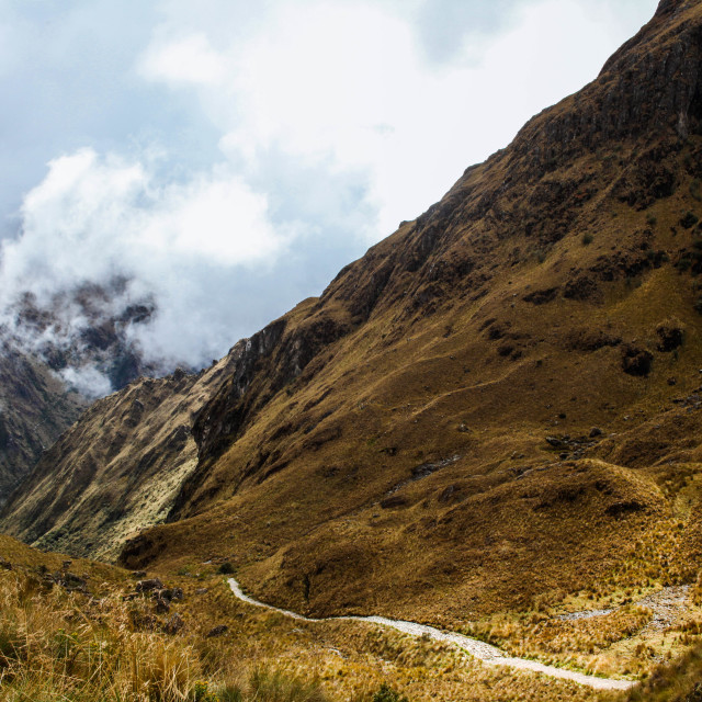 """The Inca Trail"" stock image"