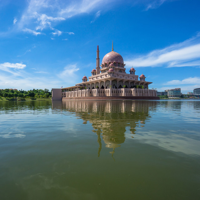 """Putra Mosque"" stock image"