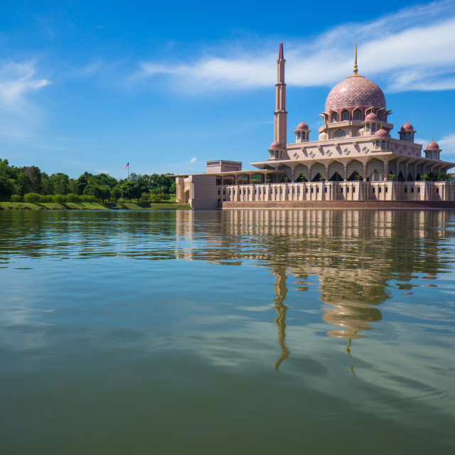 """Putra Mosque"" stock image"