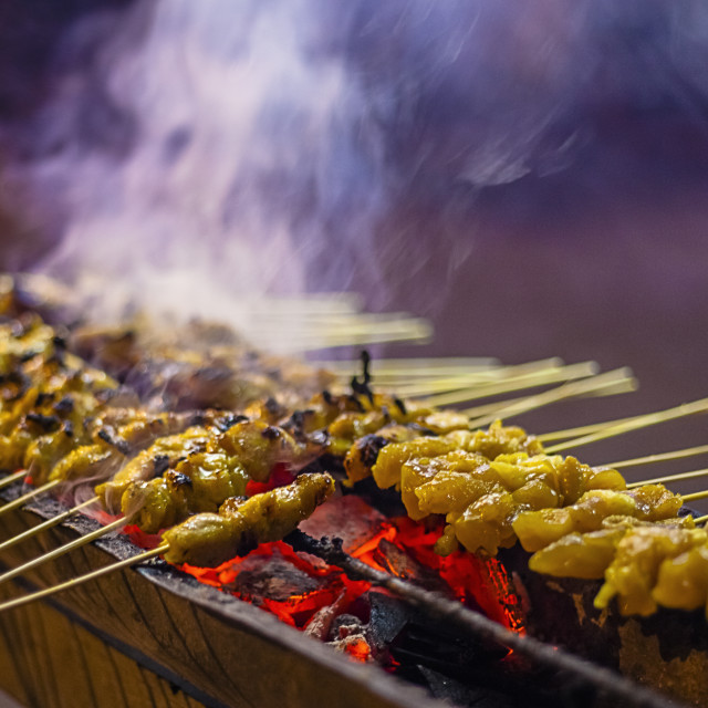 """Sate I"" stock image"