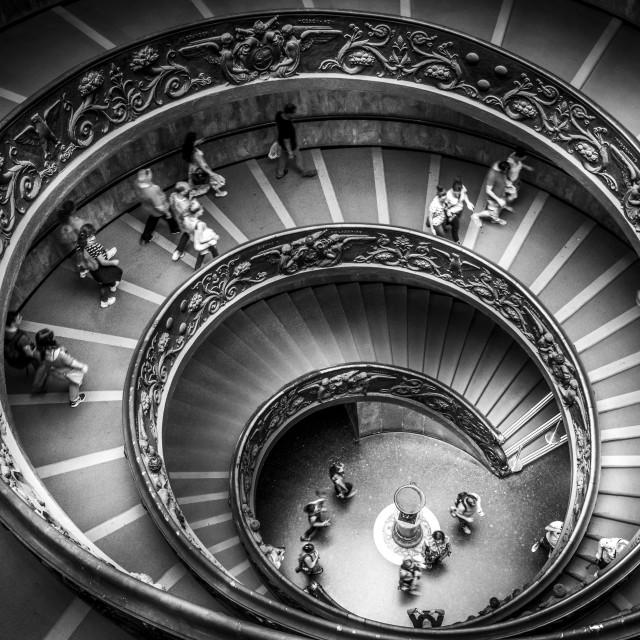 """Vatican Spiral"" stock image"