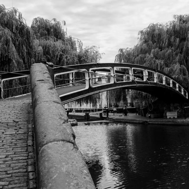 """Camden bridge"" stock image"