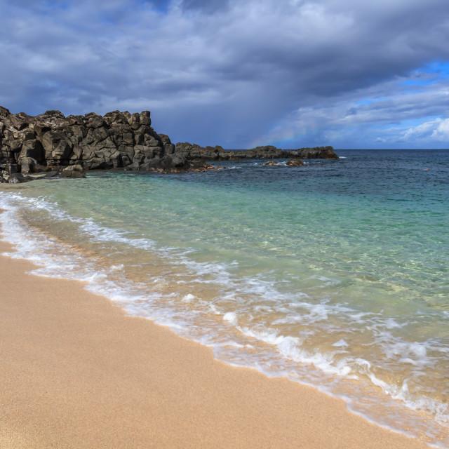 """Hawaii Beach"" stock image"