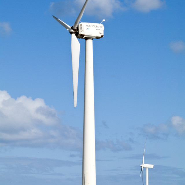 """Wind Turbines"" stock image"