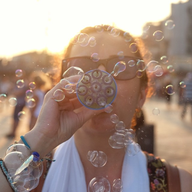 """Soap bubbles"" stock image"