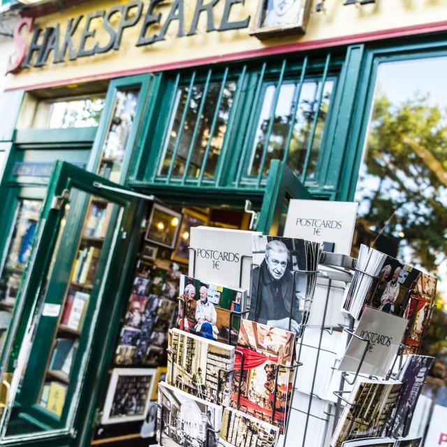 """""""Classic bookstore in paris"""" stock image"""