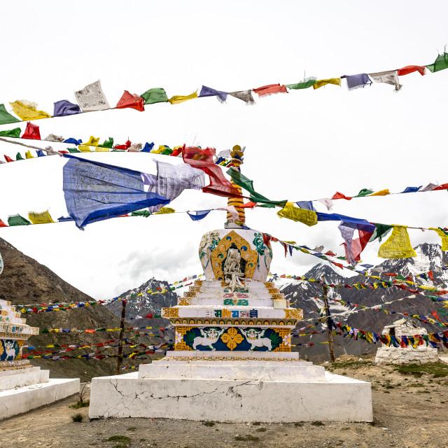 """""""Stupas"""" stock image"""