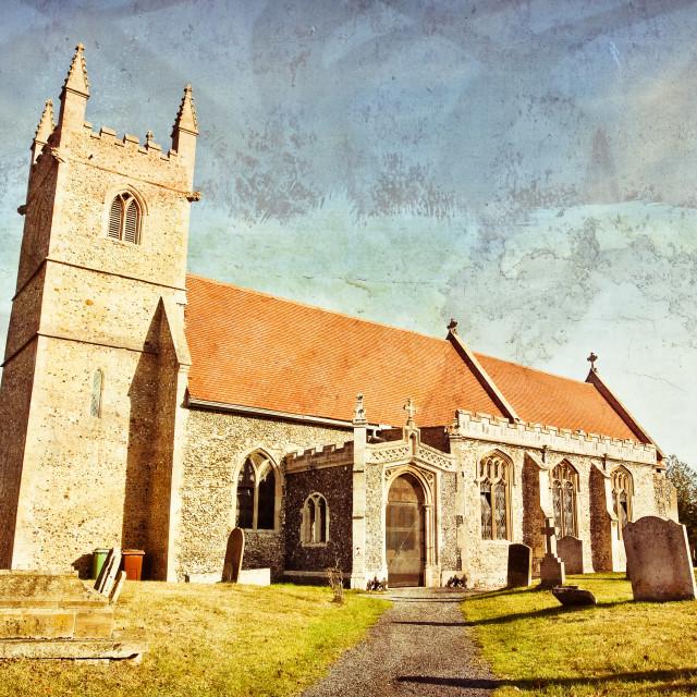 """English church"" stock image"