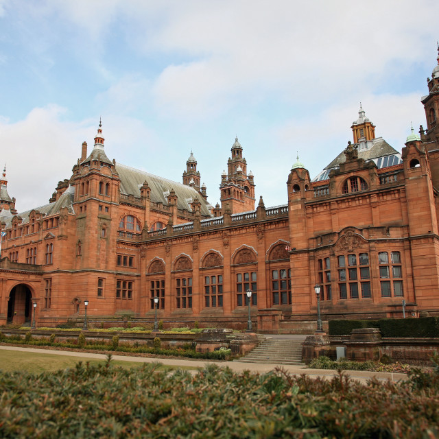 """Kelvingrove Art Gallery and Museum Glasgow Scotland"" stock image"