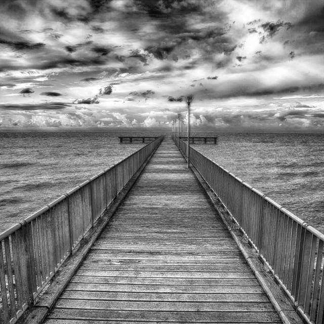 """The way to infinity (Agia marina Chrysochous Cyprus island)"" stock image"