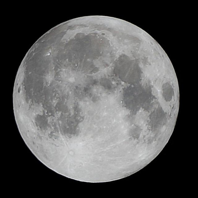 """Super Moon - Full"" stock image"