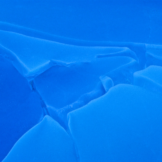 """Blue ice"" stock image"