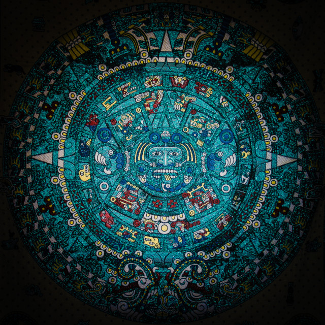 """""""Mayan calendar"""" stock image"""