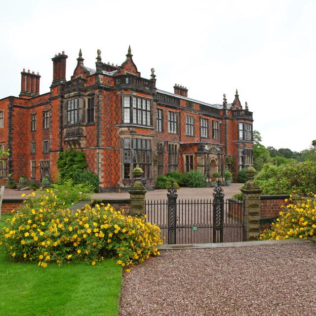 """Arley Hall Cheshire England UK"" stock image"