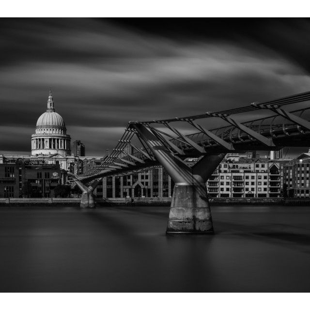 """St Paul's cathedral, London, UK"" stock image"
