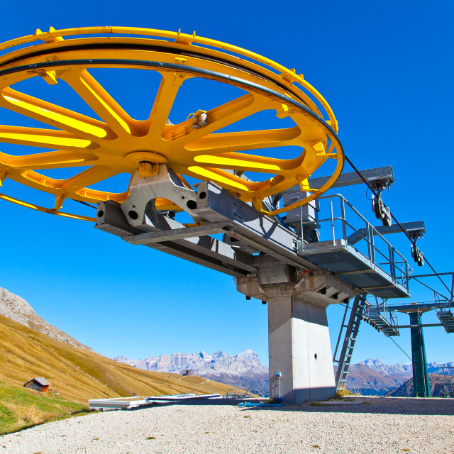 """Ski Lift"" stock image"