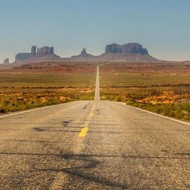 """Open Road"" stock image"
