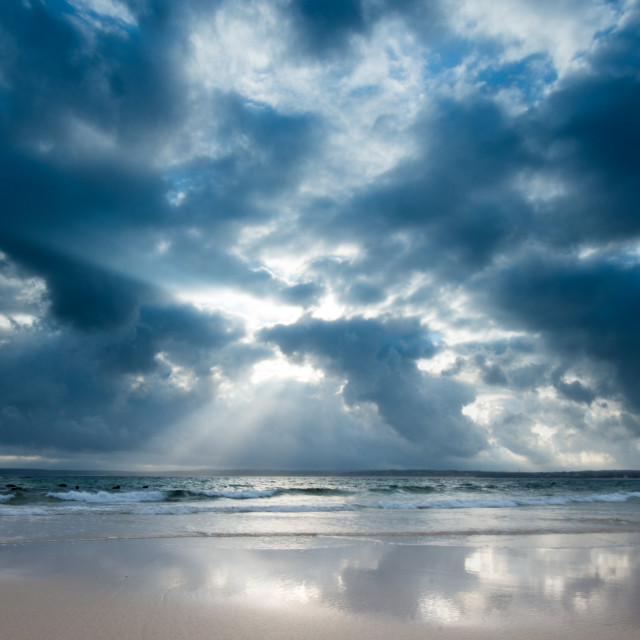 """""""Sky Reflections"""" stock image"""