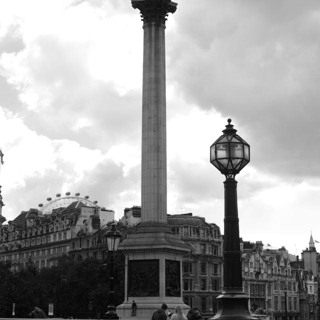 """""""Nelson's Column"""" stock image"""