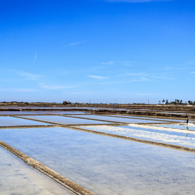 """Salt field"" stock image"